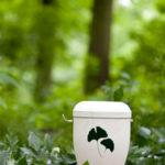 Bestattungsarten: Urne für die Waldbestattung
