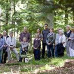 Beisetzung im Bestattungswald