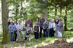 Kosten einer Waldbestattung mit Abschiednahme