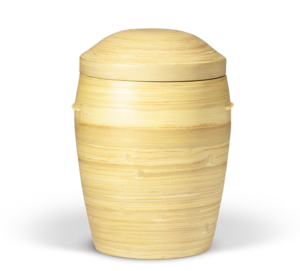 RuheForst Kaufungen, Biourne aus Bambus