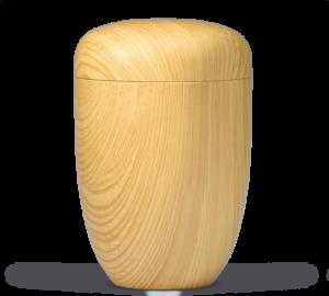 RuheForst Laubach, Biourne aus Holz