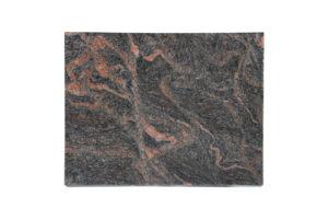 Grabgestaltung: Grabplatte aus rotem Granit