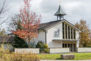 Eine Friedhofskapelle als Ort der Trauerfeier