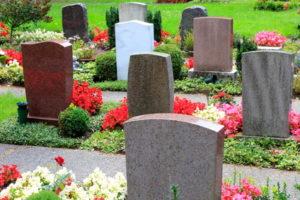 Feuerbestattung: Urnengräber