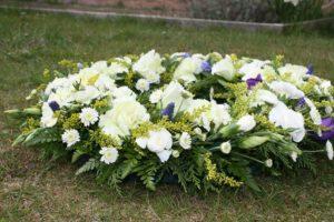 Trauerfeier: Trauerkranz