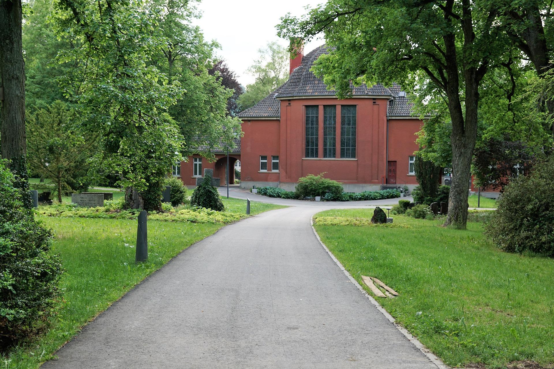 Krematorium für die Einäscherung