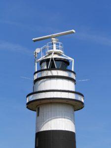 Seebestattung vor Kiel: Leuchtturm Bülk in Strande