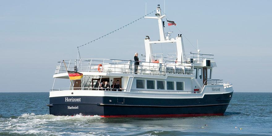 MS Horizont der Seebestattungs-Reederei Albrecht