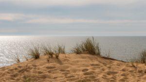 Seebestattung auf der Nordsee, Dünen
