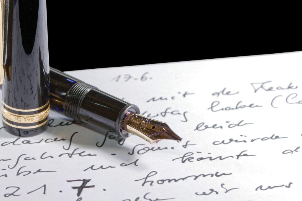 Handschriftliche Sorgerechtsverfügung