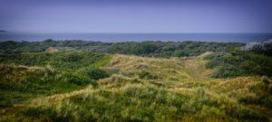 Seebestattung vor Langeoog: Dünenlandschaft