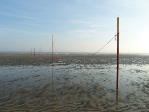 Seebestattung vor Langeoog: Wattenmeer