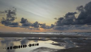 Seebestattung vor Norderney: Strand