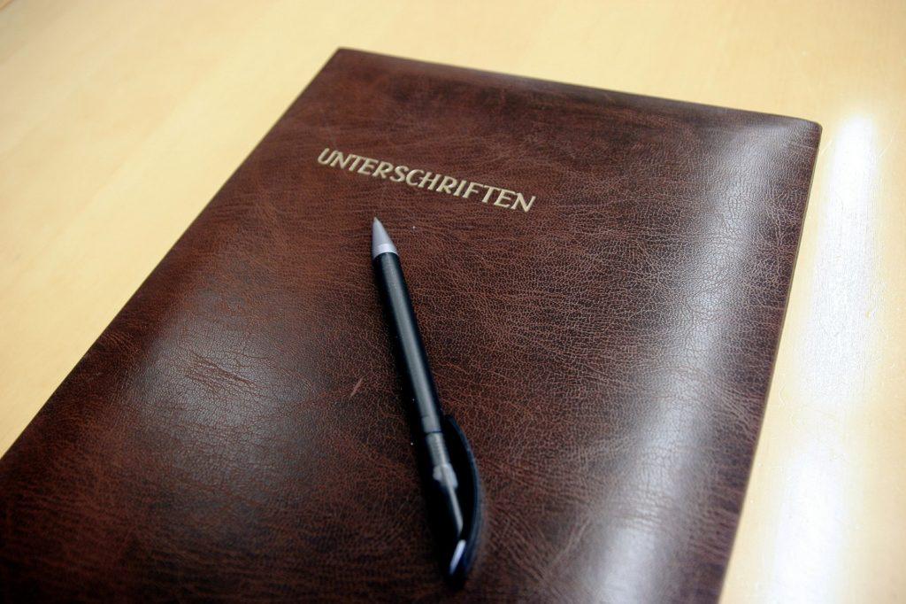 Sorgerechtsverfügung: Sammelordner für wichtige Unterlagen