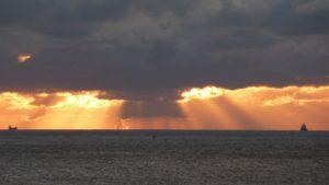 Seebestattung vor Cuxhaven: Seegebiet bei Neuwerk