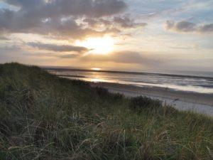 Seebestattung vor Spiekeroog: Dünenlandschaft