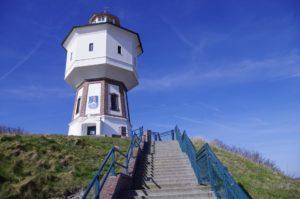 Seebestattung vor Langeoog: Wasserturm