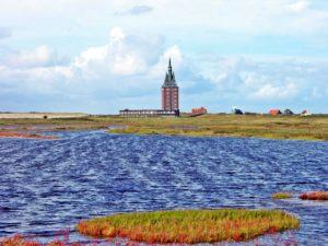 Seebestattung vor Wangerooge: Westturm