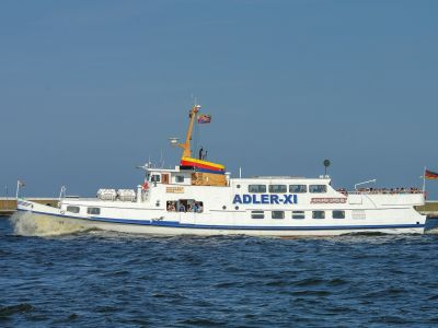 "Seebestattung vor Usedom: MS ""Adler XI"""