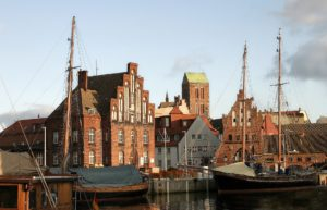 Seebestattung vor Wismar: Alter Hafen