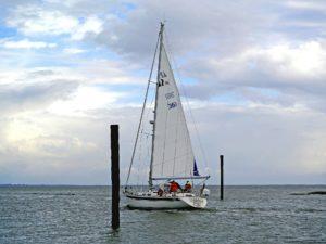 Seebestattung vor Harlesiel: Nordsee