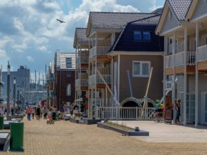 Seebestattung vor Heiligenhafen: Altstadt