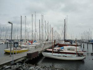 Seebestattung vor Heiligenhafen: Abfahrt ab Yachthafen