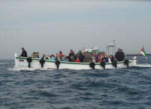 Seebestattung vor Helgoland: Ausbooten
