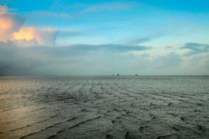 Seebestattung vor Hooksiel: Bestattungsgebiet