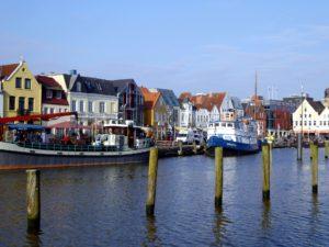 Seebestattung vor Husum: Hafen