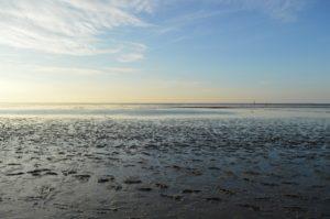 Seebestattung vor Norddeich: Wattenmeer