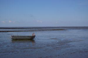 Seebestattung vor Nordstrand: Wattenmeer