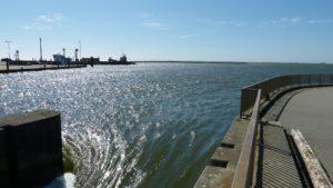 Seebestattung vor Nordstrand: Hafen