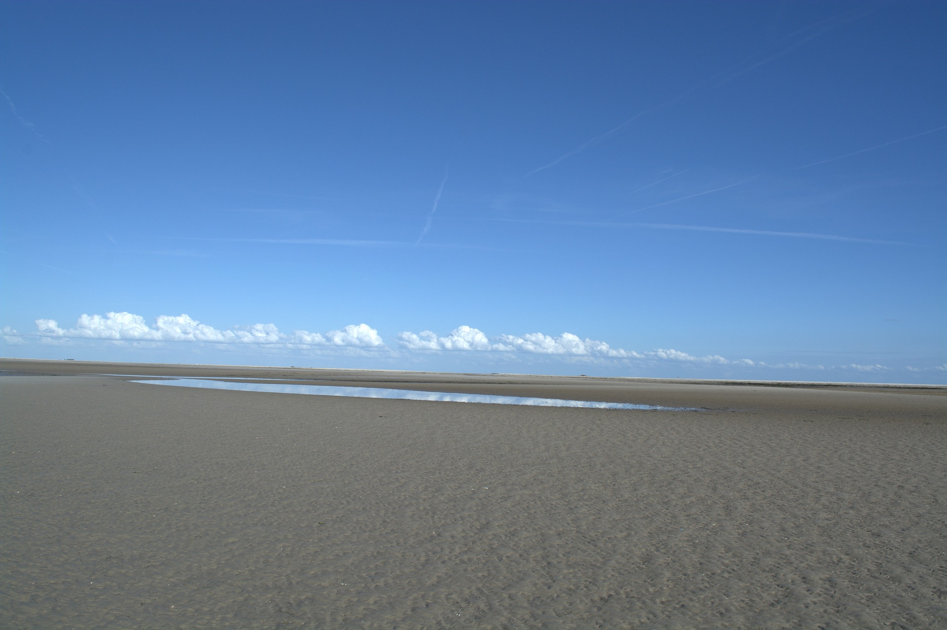 Seebestattung vor Büsum: Sandbank