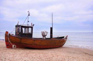 Seebestattung vor Usedom: Strand