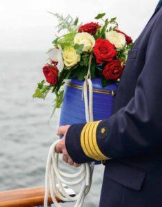 Seebestattung vor Husum: Abschiedszeremonie