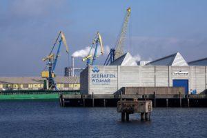 Seebestattung vor Wismar: Seehafen