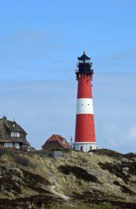 Seebestattung vor Sylt: Leuchtturm