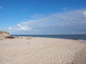 Seebestattung vor Sylt: Südspitze der Insel