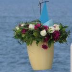 Seebestattung vor Norddeich: Abschiedszeremonie