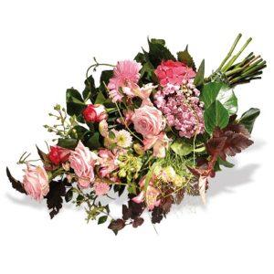 Blumenarrangement ohne Trauerschleife