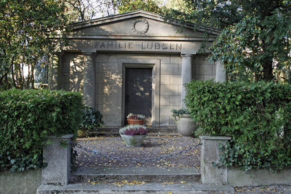 Familiengruft und Mausoleum auf dem Friedhof Bad Pyrmont