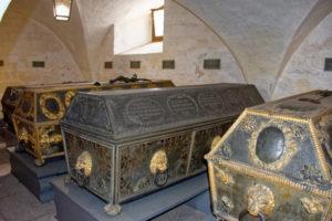 Erdbestattung: Gruft der bayerischen Könige in Ansbach