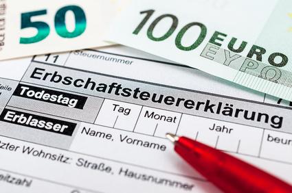 Erbengemeinschaft: Erbschaftssteuer
