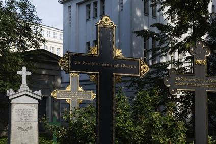 Friedhof in Berlin: Parochialkirchhof