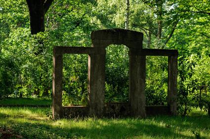 Ruinen auf dem Zentralfriedhof Berlin-Friedrichsfelde