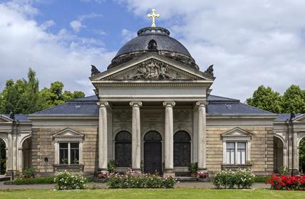 Johannisfriedhof Dresden, Kapelle