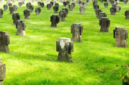 Kriegsgräber auf dem Westfriedhof Köln