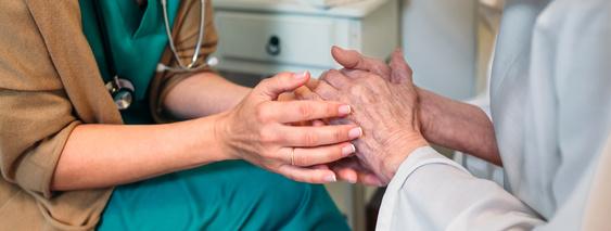 Palliativmedizinische Betreuung im Hospiz