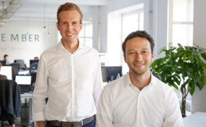 November-Geschäftsführer Christoph Basner und Robin Klemm